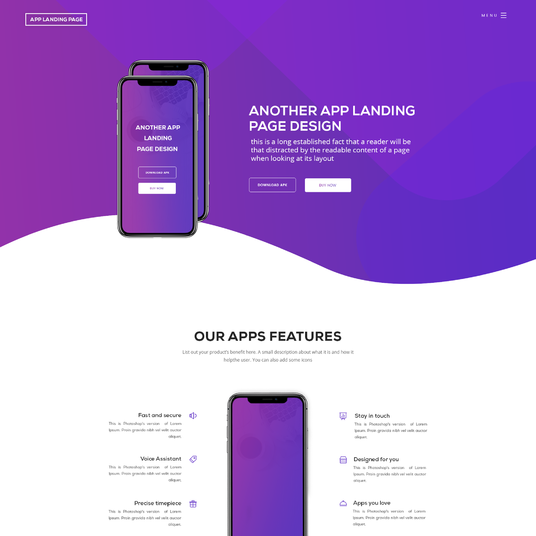 I will  Design Modern Website UI