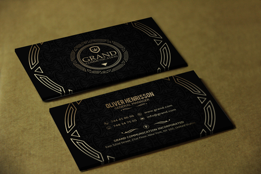 I will design a stunning look Business Card For You .