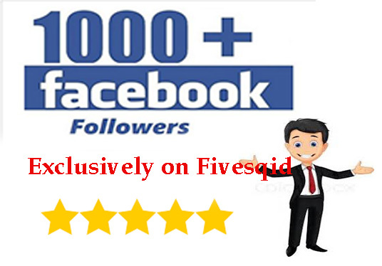 I will Add 1,000 Facebook Followers
