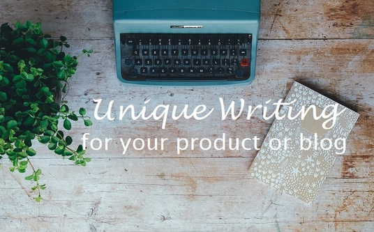 I will write a unique article, blog or product description up to 350 words