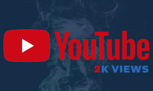 Add HQ 2000 YouTube Video views And Marketing for £5