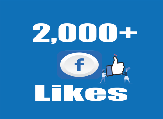 I will provide you 2,000+ Facebook Post Likes