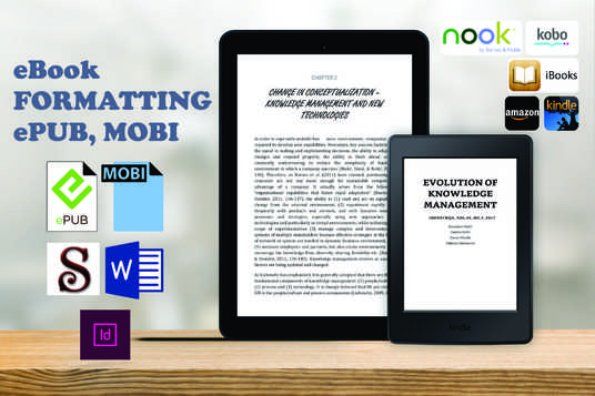 I will convert your manuscript into Reflowable eBook - ePub / Mobi -
