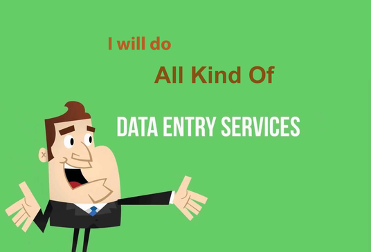 Do Data Entry, Data Analysis, Web Research, Admin Support