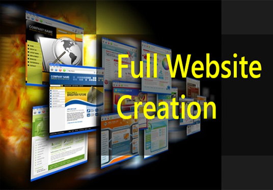 I will Do Full Website Creation For You