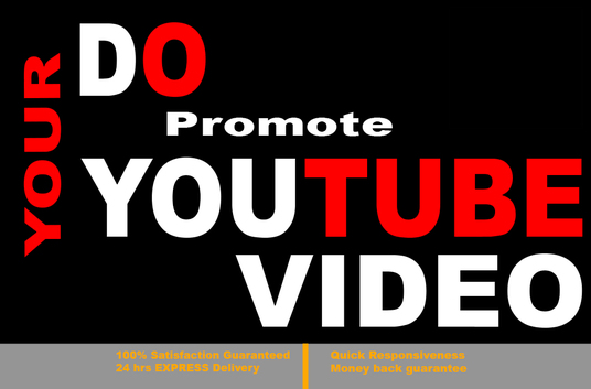 I will Do Viral Youtube Views Promotion For You