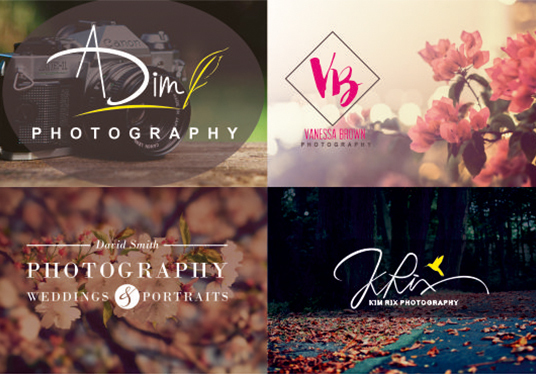 I will Design Photography Watermark Or Signature Logo