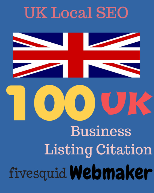 I will provide 100 UK local listing citation for your business - Best UK local SEO
