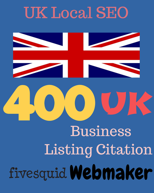 I will provide 400 UK local listing citation for your business