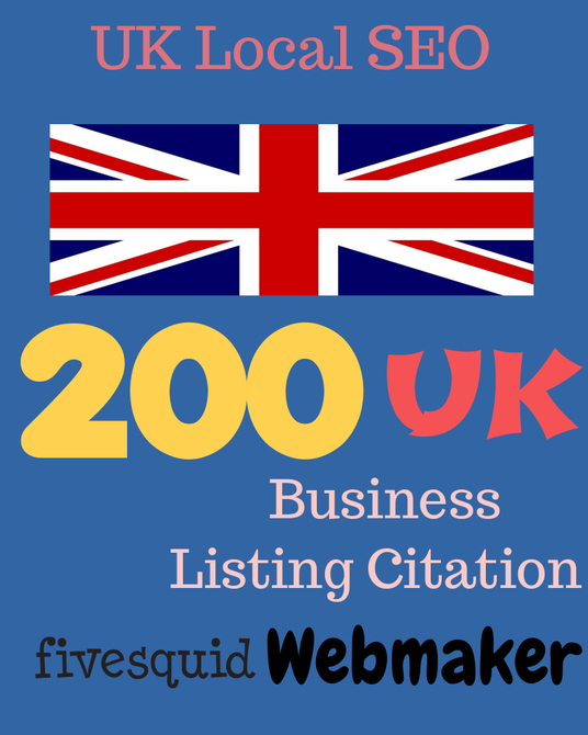 I will provide 200 UK local listing citation for your business - Best UK local SEO