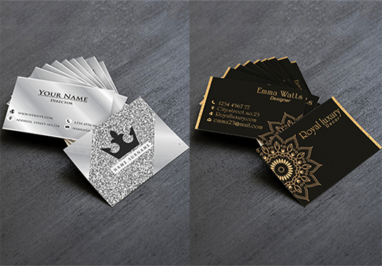 Create 2 Different Business Card and stationary Designs With One Logo