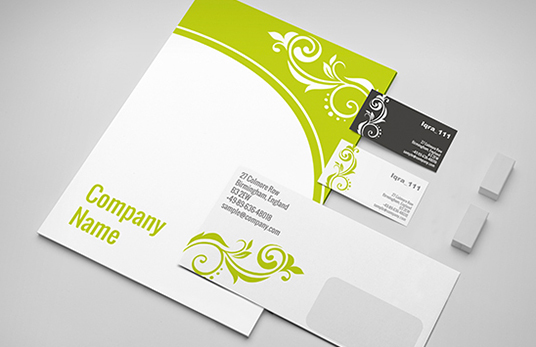I will  Do An Amazing Business Card, Letterhead, Stationary Design