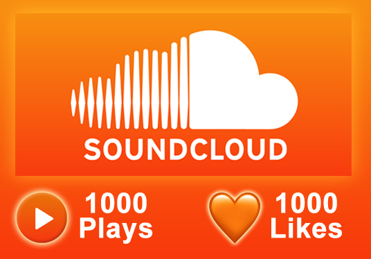 I will add soundcloud 1000 plays + 1000 likes