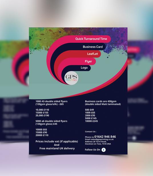 I will Design Outstanding Flyer Within 24 Hour