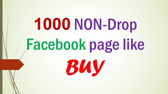 I will Do 1000 Facebook Page like