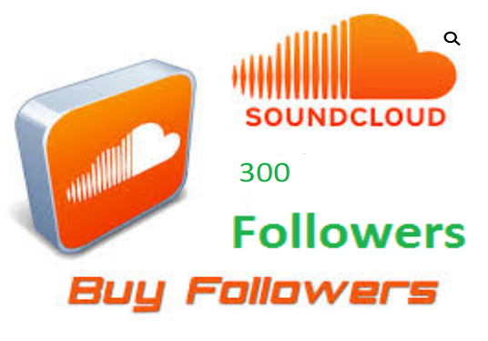 I will give you 300 soundcloud  Non Drop Followers