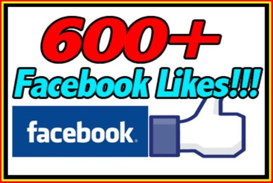 I will Give Real 600 Plus UK Facebook Likes on Facebook Fanpage