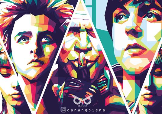 I will Draw A Beautiful Pop Art Wpap From Your Photo