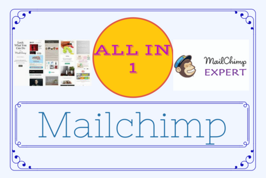 I will give you one stop service as a MailChimp expert