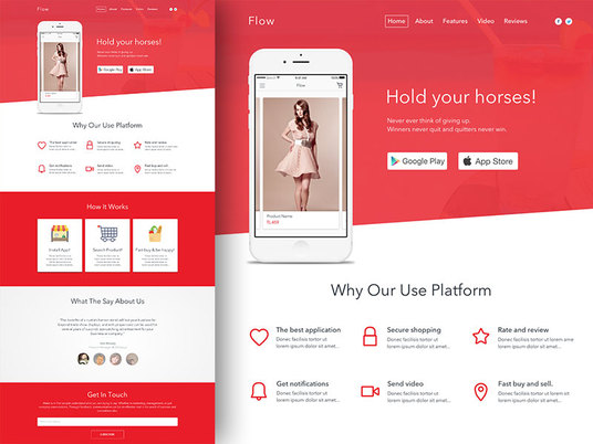 I will create a single page Website/Landing page