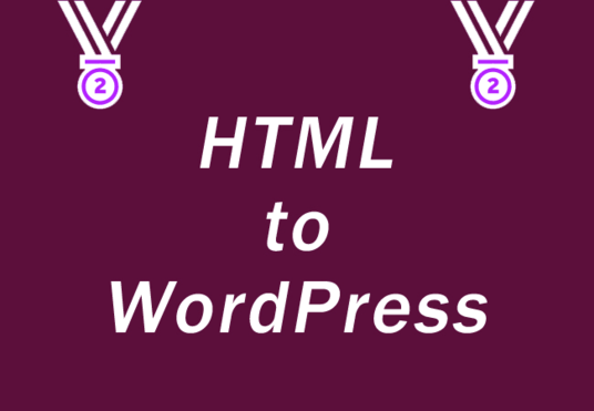 I will convert PSD/HTML to WordPress