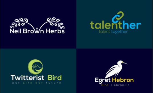 I will do eye catching logo design for brand or web