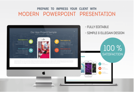 I will Design Modern And Professional Powerpoint Presentation