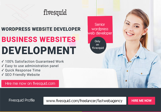 I will create best wordpress business website for you