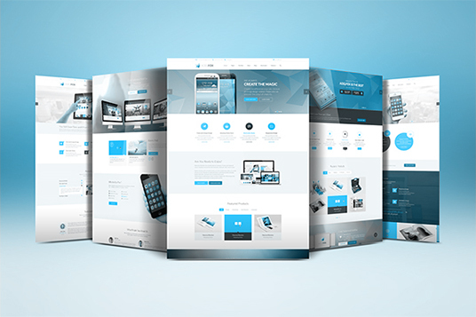 I will Design Responsive Website Templates