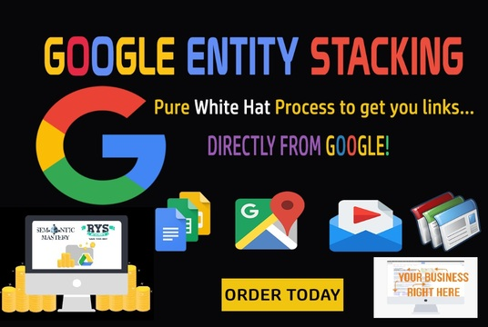 I will Create Google Entity Stack Setup For Your Website / Brand Rankings