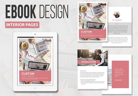 I will design the INTERIOR pages of ebooks