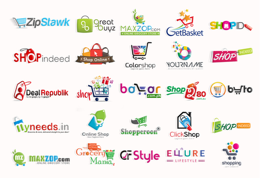 I will Design Ecommerce, Shopify, Ebay, Shop Or Online Store Logo