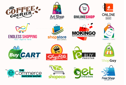 Design ecommerce shopify ebay shop or online store logo for Design online shop