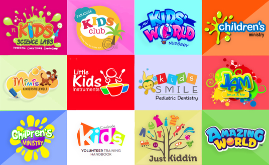 I will Design Logo For Kids Shop, Children, Baby Or Toddler