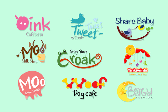 I will Design Logo For Baby Toy, Product Or Shop