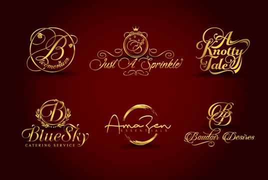 I will Design A Luxury Photography Watermark Or Signature Logo