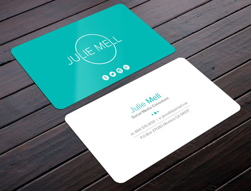 do modern and clean business card design for 5 designerboss