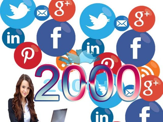 I will Provide 2000 Twitter Permanent Followers