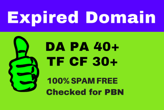I will find out SEO friendly expired domain