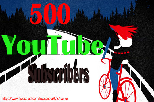 I will Add Super Fast 500+  High Quality  YouTube Subscribers Only