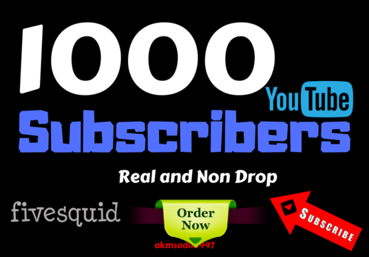 I will bring 500 youtube subscribers in quick time