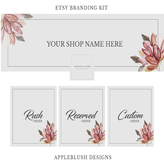 I will create a banner for your Etsy Shop/Facebook