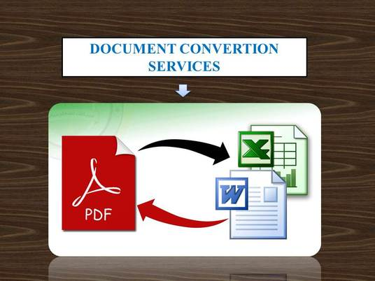 I will provide PDF or image to word,excel conversion