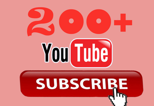 I will Guarantee 200 High quality Subscribers to your channel