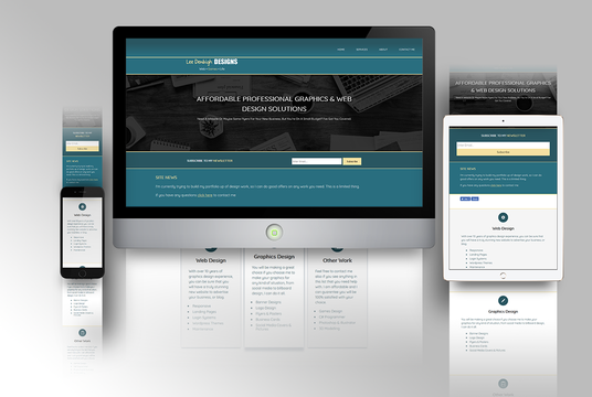 I will design you an eye-catching, responsive web page for your website using HTML & CSS
