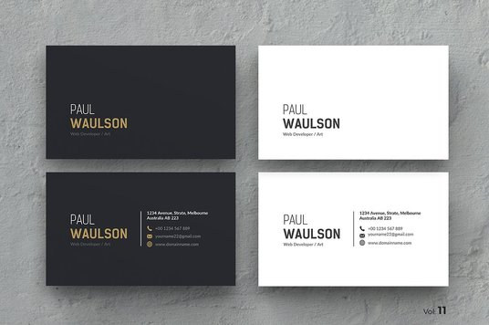 I will design amazing and professional business card
