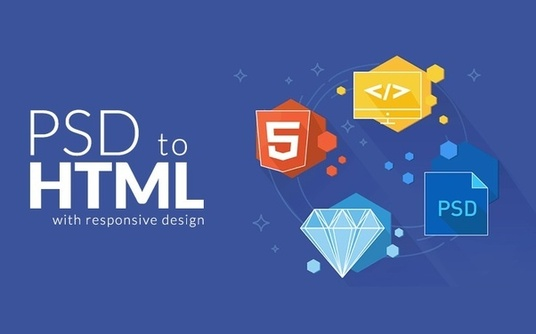 I will convert PSD to HTML using bootstrap