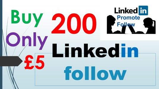 I will Add 200 linked in Followers
