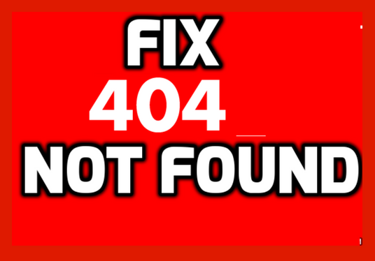 I will Fix 404 Error And Broken Links From Your Wordpress Site