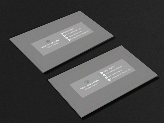I will make a Professional Business Card design for you